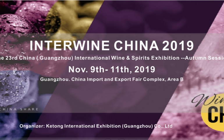 Interwine China a Guangzhou – 9/11 Novembre 2019